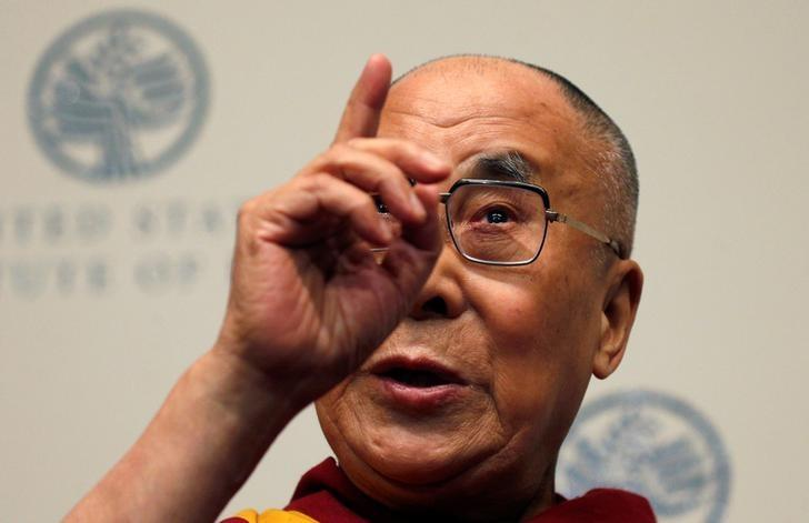 The Dalai Lama speaks at the U.S. Institute of Peace in Washington