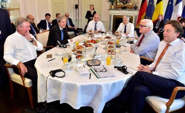 Ministers attend talks in Berlin