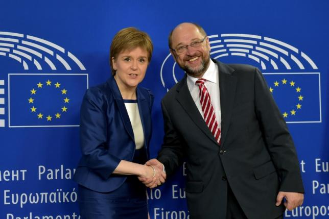 Президент Комиссии ЕС встретится с шотландским премьером