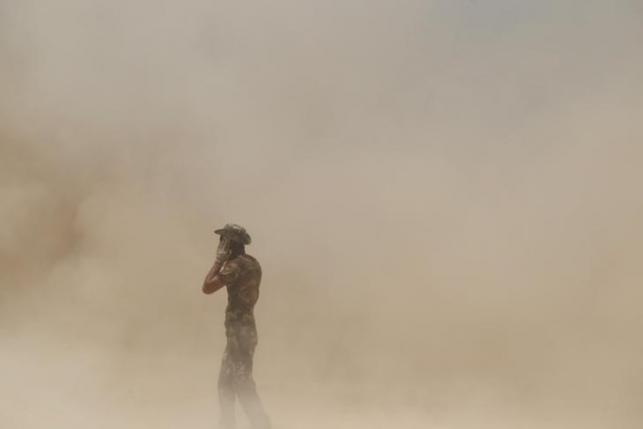 Иракская армия наступает на город Фаллуджа