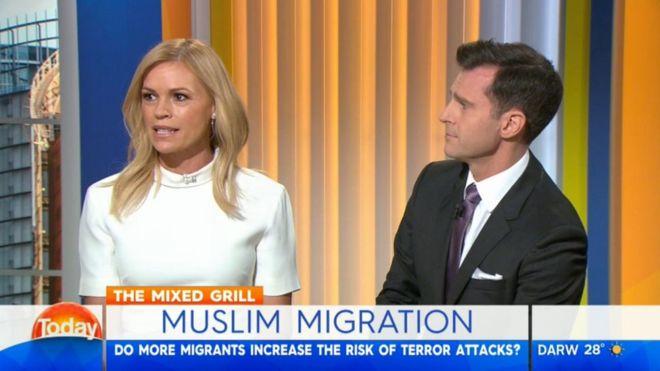 Австралийская телеведущая призвала не пускать мусульман в страну
