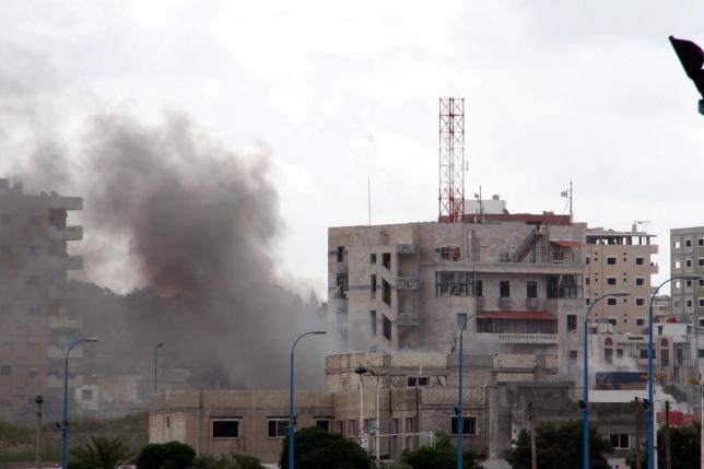 Сирийские повстанцы захватили город Кансаба в Латакии