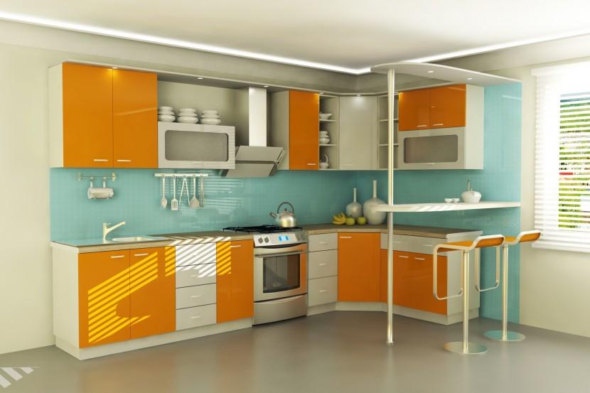 Кухонный интерьер в Ваших руках