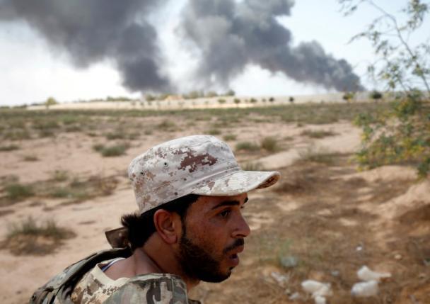 Ливийские военные наступают на Сирт