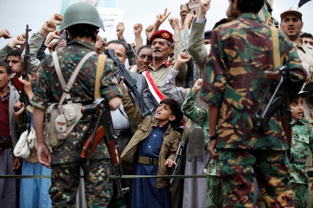 На границе Йемена произошло столкновение солдат с боевиками Хоути