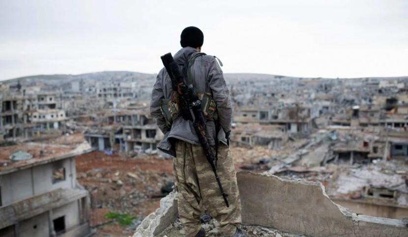 Сирийские курды захватили новые позиции в городе Хасака