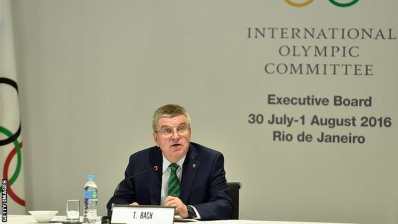 МОК примет окончательное решение по российским спортсменам