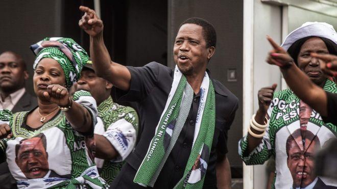 Результаты президентских выборов в Замбии спровоцировали беспорядки