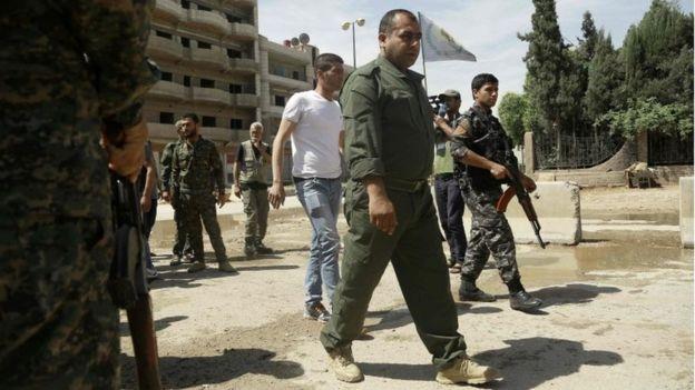 Американские истребители помешали авиации Асада бомбить сирийский город