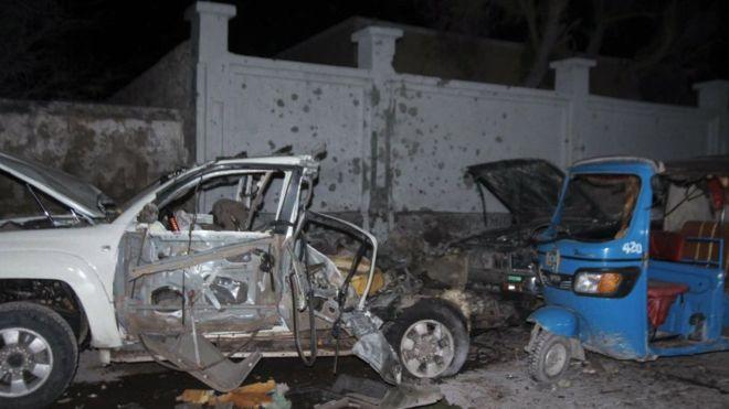 В Сомали исламисты расстреляли посетителей элитного ресторана