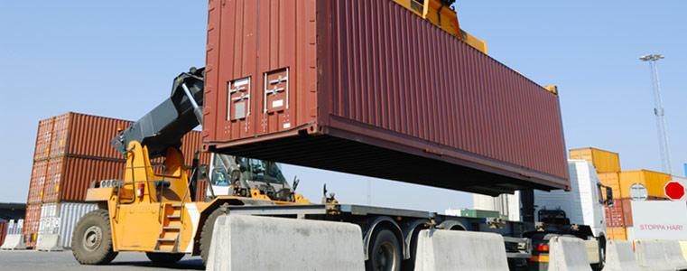 Услуги по экспедированию контейнерных грузов в порту