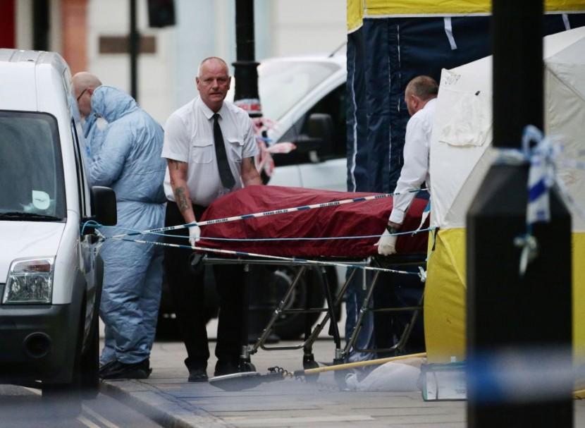 В Лондоне произошло нападение на мирных жителей