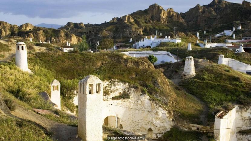 Гвадикс — испанский город хоббитов