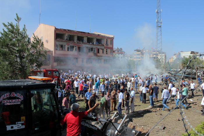 В турецком городе Элязыг произошел крупный теракт