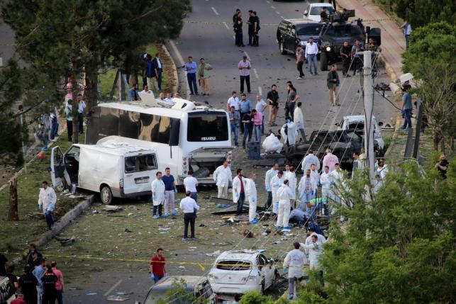 На юго-востоке Турции прогремел теракт