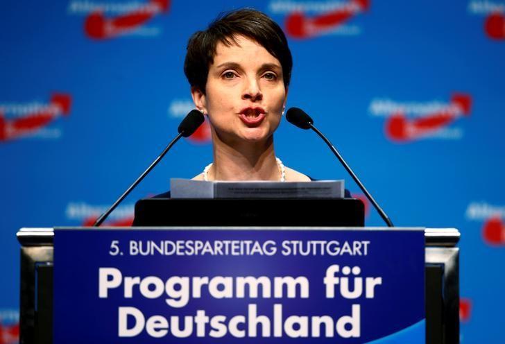 Популярность партии «Альтернатива для Германии» возрастает