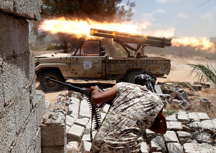 Ливийские войска освободили мечеть и тюрьму в Сирте