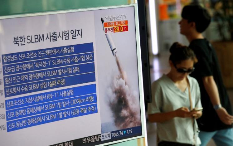 КНДР провела ошеломительный тест подводной баллистической ракеты