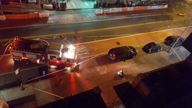 Видео взрыва наМанхэттене размещено полицией США