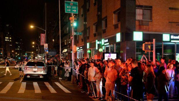 В Нью-Йорке прогремел взрыв, есть раненые