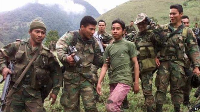 В Колумбии повстанцы демобилизуют детей