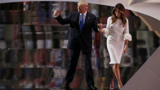 Британский таблоид обвинил жену Трампа в проституции