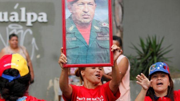 Млн. венесуэльцев требуют отставки Мадуро на дорогах Каракаса