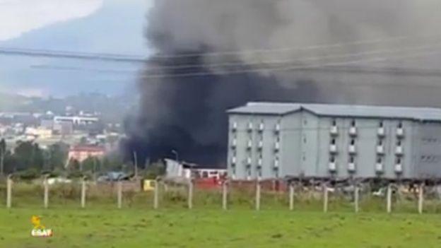 В эфиопской тюрьме после пожара погибли заключенные
