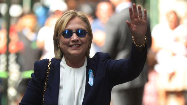 Хиллари Клинтон пошла на поправку