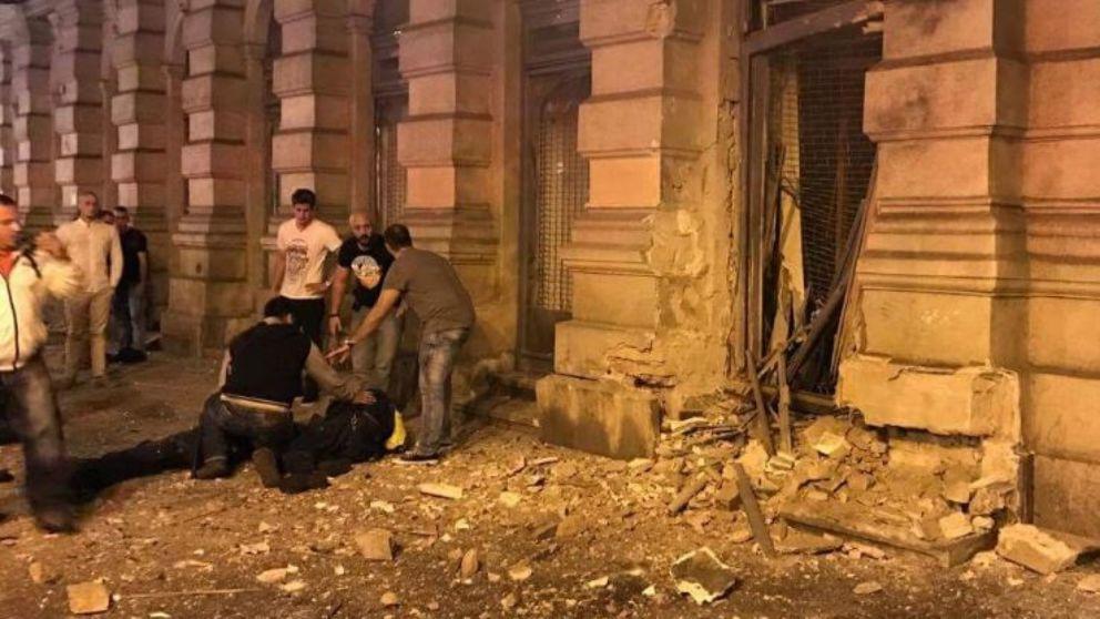 Взрыв в Будапеште