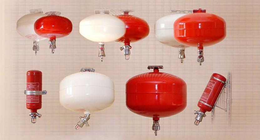 Модули и системы пожаротушения