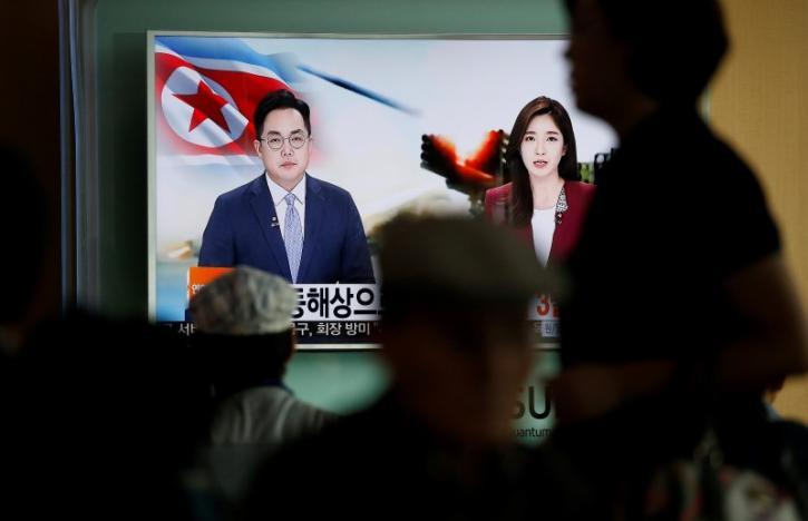 США назвали запуск КНДР баллистических ракет угрозой безопасности врегионе