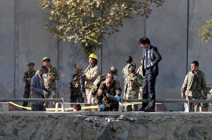 В Кабуле прогремело два крупных теракта