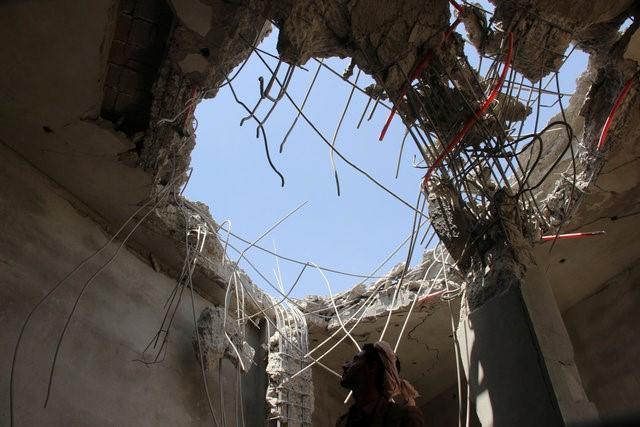 В северном Йемене произошла бомбардировка
