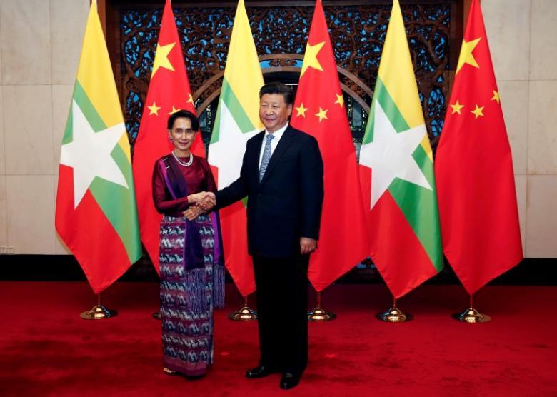 Китай и Мьянма