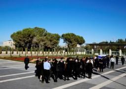 Лидеры Палестины и Израиля встретились на похоронах Переса