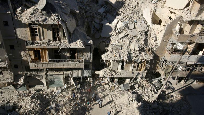 Войска продолжают осаду Алеппо