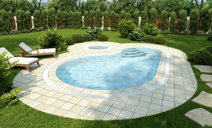 Строительство отличных бассейнов