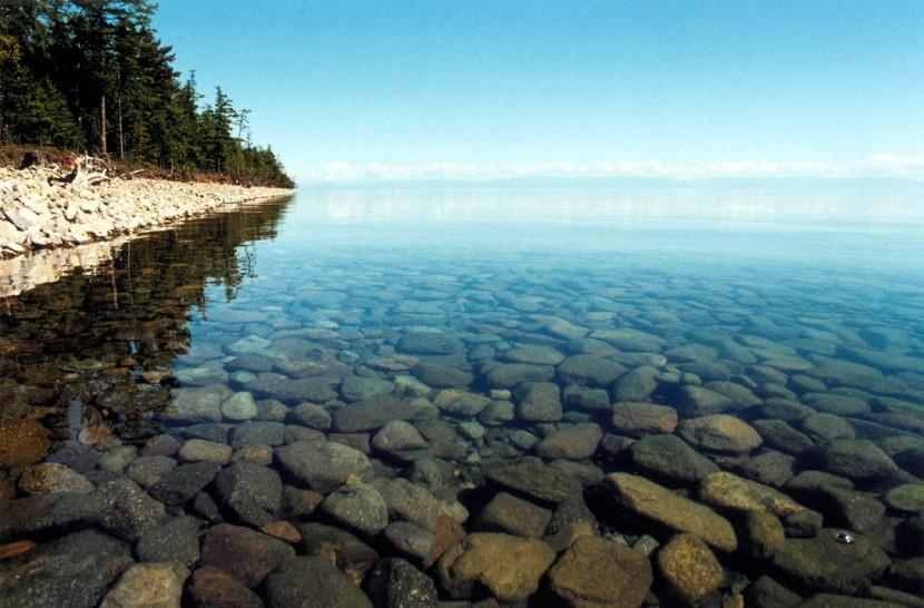 Байкал — бухта Песчаная