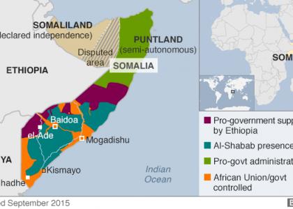 В Сомали исламисты напали на стратегически важный город