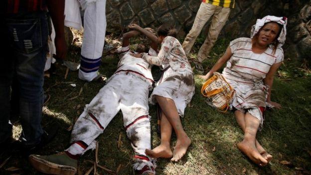 В Эфиопии десятки людей погибли во время разгона демонстрации