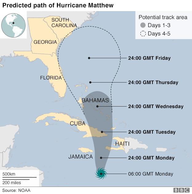 На Гаити готовятся пережить самый сильный шторм за последние годы
