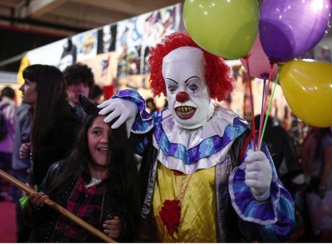 Сидней терроризируют жуткие клоуны