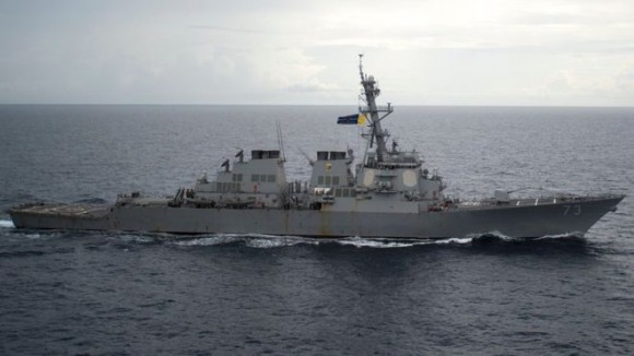 Китай протестует против американского военного корабля в Южно-Китайском море