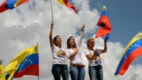 В Венесуэле прошел марш оппозиции