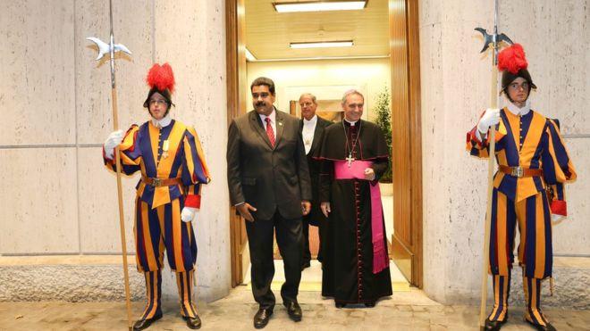 Папа Римский поможет Венесуэле выйти из кризиса