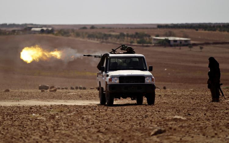 Сирийские повстанцы захватили деревню Дабик