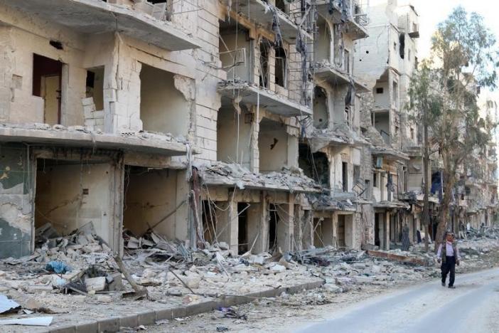 Осада восточного Алеппо считается военным преступлением