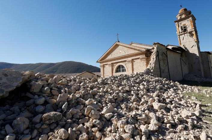 ВИталии случилось землетрясение магнитудой выше 7 баллов