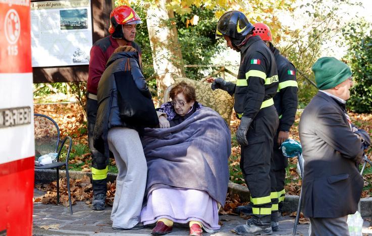В Италии произошло второе крупное землетрясение